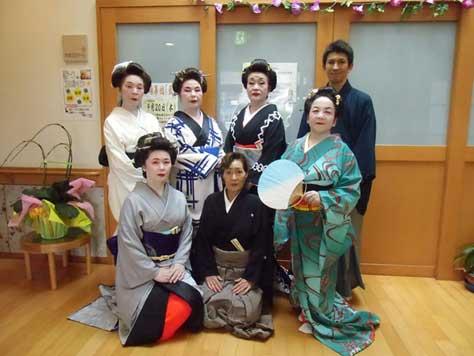 舞踊集団「藍」来園!!