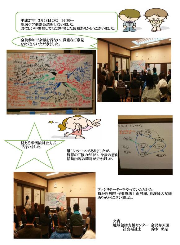 地域ネットワーク会議が行われました。